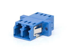 Picture of LC Singlemode Duplex Fiber Adapter - PC (Physical Contact)