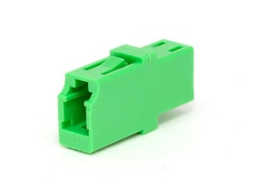 Picture of LC Singlemode Simplex Fiber Adapter - APC (Angle Physical Contact)