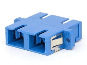 Picture of SC Singlemode Duplex Fiber Adapter - PC (Physical Contact)
