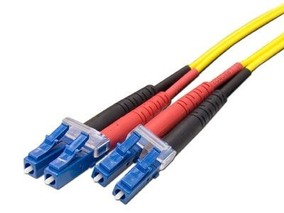 Picture of 5 m Singlemode Duplex Fiber Optic Patch Cable (9/125) - LC to LC