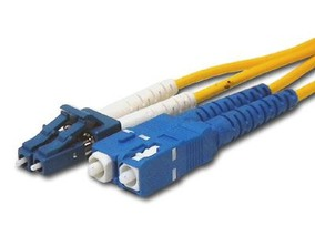 Picture of 5 m Singlemode Duplex Fiber Optic Patch Cable (9/125) - LC to SC