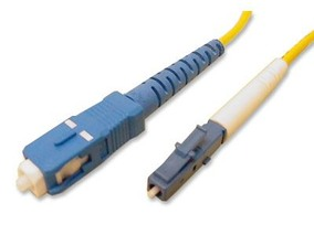 Picture of 2 m Singlemode Simplex Fiber Optic Patch Cable (9/125) - LC to SC