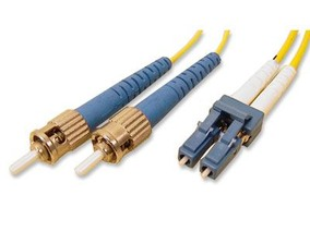 Picture of 5 m Singlemode Duplex Fiber Optic Patch Cable (9/125) - LC to ST