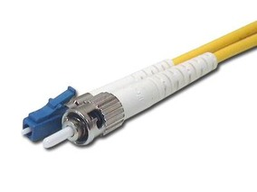 Picture of 2 m Singlemode Simplex Fiber Optic Patch Cable (9/125) - LC to ST