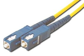 Picture of 3 m Singlemode Simplex Fiber Optic Patch Cable (9/125) - SC to SC
