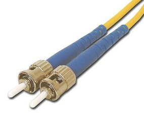 Picture of 3 m Singlemode Simplex Fiber Optic Patch Cable (9/125) - ST to ST