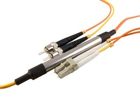 Picture of 5 m Mode Conditioning Duplex Fiber Optic Patch Cable (50/125) - LC (equip.) to ST