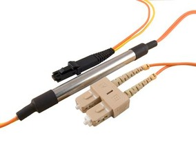 Picture of 5 m Mode Conditioning Duplex Fiber Optic Patch Cable (50/125) - SC (equip.) to MTRJ