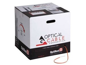 Picture of Indoor / Outdoor 2 Strand Fiber Distribution Cable - Multimode OM3 50/125 micron Laser Optimized, Riser Rated - 1000 ft