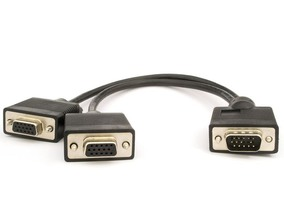 "Picture of 1 ft SVGA Monitor ""Y"" Cable - Triple Shielded"