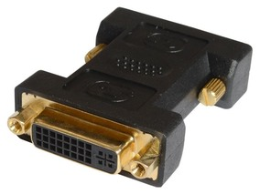 Picture of DVI Adapter - DVI-I Female to DVI-D Male