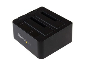 "Picture of USB 3.1 Gen 2 (10Gbps) Dual-Bay Dock for 2.5""/3.5"" SATA SSD/HDDs"
