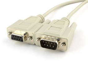 Picture of 10 FT Null Modem Cable - DB9 M/F