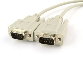 Picture of 10 FT Serial Cable - DB9 M/M