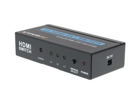 Picture of 3x1 HDMI Switch - Full HD, 3D, Ultra HD, 4K, IR Remote Control
