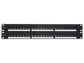 Picture of CAT6 High-Density Feed Through Patch Panel - 48 Port, 2U