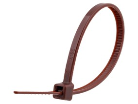 Picture of 4 Inch Brown Cable Tie - 100 Pack