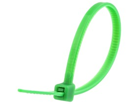 Picture of 4 Inch Green Cable Tie - 100 Pack