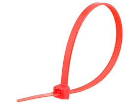 Picture of 8 Inch Red Cable Tie - 100 Pack