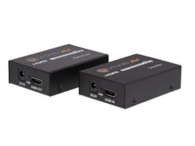 Picture of HDMI Extender with IR over 1 CAT6 - 60 Meter, Full HD, 1080p, 3D